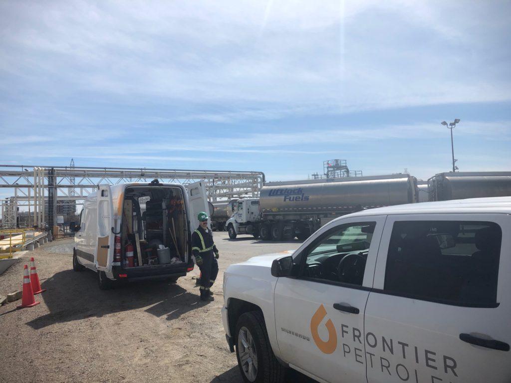 Frontier Petroleum | Specializing in petroleum construction